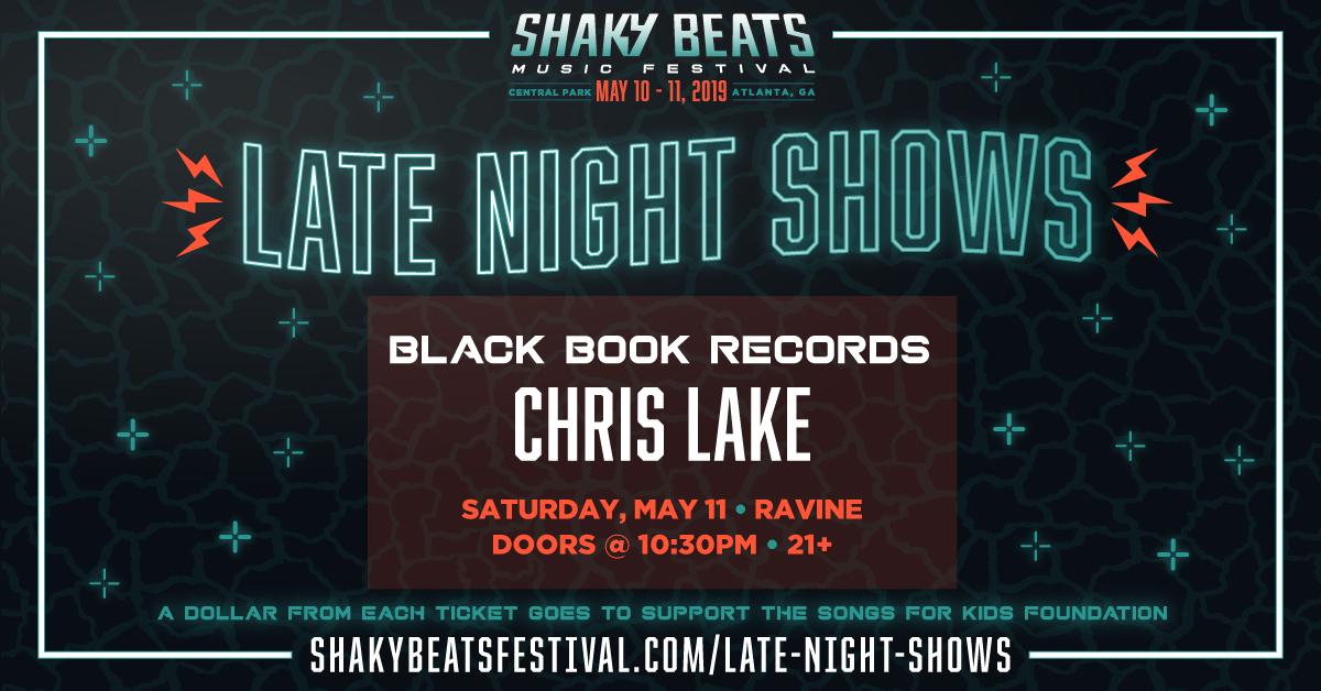 Shaky Beats: Late Night Shows ft. Chris Lake – 05.11.19