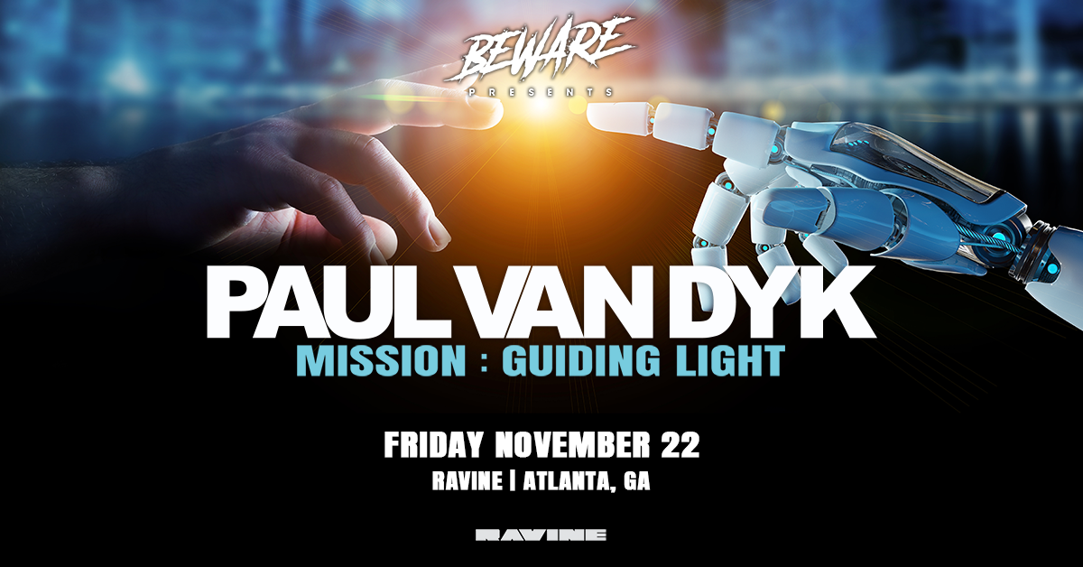 Paul Van Dyk – Mission: Guiding Light – 11.22.19