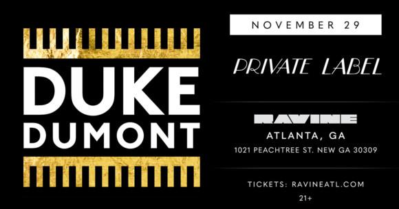 Duke Dumont – 11.29.19